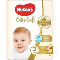 9400874 Scutece Huggies Elite Soft Convi, nr 3, 5-9 kg, 21 buc
