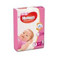 9402494_001w Scutece Huggies Mega Comfort Girls, Nr 3, 5 - 9 Kg, 80 buc