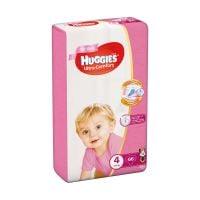 9402496_001w Scutece Huggies Mega Comfort Girls, Nr 4, 8 - 14 Kg, 66 buc