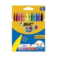 945764_001w Set creioane cerate Plastidecor Bic, P12