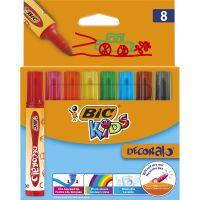 946442_001w Markere colorate Decoralo Bic, 8 culori