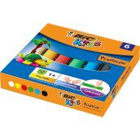 947712_001w Plastilina Bic, 6 culori