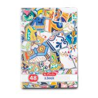 9480850_001w Caiet dictando Herlitz A4, 48 file, Mozaic