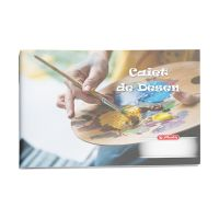 9481080_001w Caiet desen Herlitz, 24 file, Rock Your School