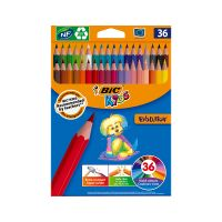 950526_001w Set creioane colorate Evolution Bic, P36