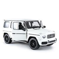 95700 Alb Masinuta cu telecomanda Rastar Mercedes-Benz G63 AMG, Alb, 1:14