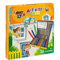 961558_001w Set de colorat Bic - Kids Activity Case