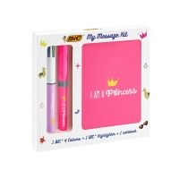972089 Set rechizite Bic - My Message Kit I Am A Princess