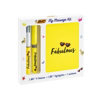 972090_001w Set rechizite Bic - My Message Kit Fabulous