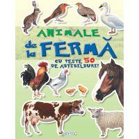 9786060241546 EG1546_001w Carte cu abtibilduri Cauta si lipeste, Animale de la ferma