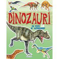 9786060241553 EG1553_001w Carte cu abtibilduri Cauta si lipeste, Dinozauri