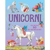 9786060241560 EG1560_001w Carte cu abtibilduri Cauta si lipeste, Unicorni
