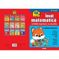 9786060241805 EG1805_001w Scoala acasa, Invat matematica, 4-5 ani