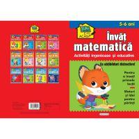 9786060241812 EG1812_001w Scoala acasa, Invat matematica, 5-6 ani