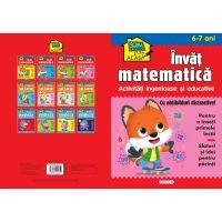 9786060241829 EG1829_001w Scoala acasa, Invat matematica, 6-7 ani