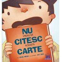 9786066831499_001w Carte Nu vreau sa citesc aceasta carte, Editura DPH