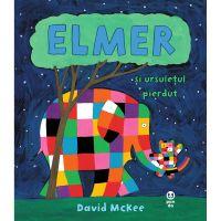 9786069781432_001w Carte Editura Pandora M, Elmer si ursuletul pierdut, David McKee