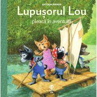 9786069781616_001w Carte Editura Pandora M, Lupusorul Lou pleaca in aventura, Antoon Krings