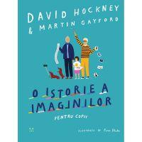 9786069781791_001w Carte Editura Pandora M, O istorie a imaginilor pentru copii, David Hockney