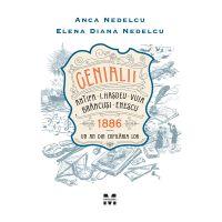 9786069781999_001w Carte Editura Pandora M, Genialii Antipa, I. Hasdeu, Vuia, Brancusi, Enescu. 1886 – Un an din copilaria lor, Anca Nedelcu