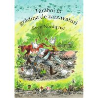 9786069782118_001w Carte Editura Pandora M, Taraboi in gradina de zarzavaturi, Sven Nordqvist