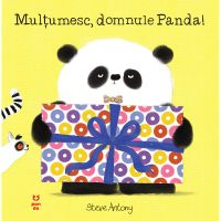 9786069782231_001w Carte Editura Pandora M, Multumesc, domnule Panda! Steve Antony