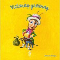 9786069782514_001w Carte Editura Pandora M, Victoras greieras, Antoon Krings