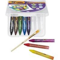 989683_001w Creioane cerate Duomagix Bic, 8 culori