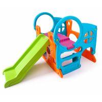 800010247_001w Ansamblu de joaca cu tobogan pentru copii Feber
