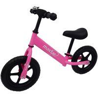 A46268_001 Bicicleta fara pedale Maxtar Sebra, Roz
