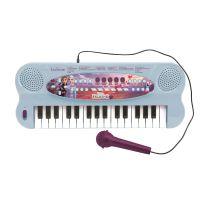 K703FZ_001w Orga electronica Lexibook, 32 de clape, sunete incorporate si microfon, Disney Frozen