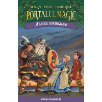 Atacul vikingilor. Portalul magic nr. 15, Mary Pope Osborne