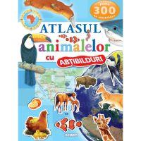 EG1126_001 Atlasul animalelor cu abtibilduri