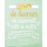 Carte Editura Litera, 250 de lucruri de incercat intr-o viata - pentru prieteni, Elise de Rijck
