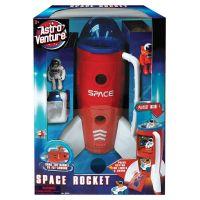 AV63114_001w Racheta spatiala si figurine astronaut Astro Venture