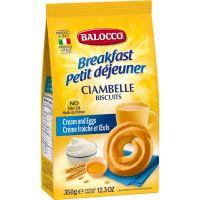 B108_001w Biscuiti cu smantana Balocco Ciambelle, 350 g