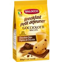 B113_001w Biscuiti cu bucati de ciocolata Balocco Gocciolotti, 350 g