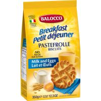 B117_001w Biscuiti cu lapte si ou Balocco Pastefrolle, 350 g