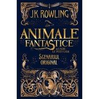 BANFANT_001w Carte Editura Arthur, Animale fantastice 1. Animale fantastice si unde le poti gasi, J.K. Rowling