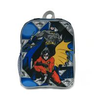 BAT12001_001w Ghiozdan cu 1 compartiment si pelerina Batman