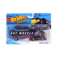BDW51_001 Set 2 masinute Hot Wheels Super Rig Collection