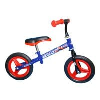 Bicicleta fara pedale Spiderman, 10 inch, albastru