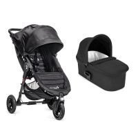 Carucior Baby Jogger City Mini Gt, Black, Sistem 2 In 1