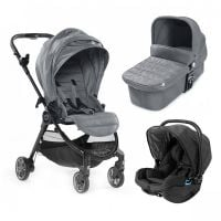 Carucior Baby Jogger City Tour Lux, Slate, Sistem 3 In 1