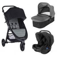 Carucior Baby Jogger City Mini Gt 2 Slate, Sistem 3 In 1