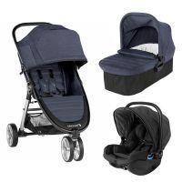 Carucior Baby Jogger City Mini 2 Carbon, Sistem 3 In 1