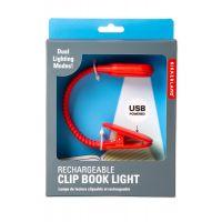 BL13-RD-EU_001w lampa de citit cu USB, Noriel Impulse, Rosu