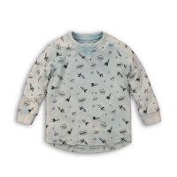 Bluza maneca lunga cu imprimeu Minoti Cosmic M418H002