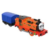 BMK87_2018_005w Set locomotiva si vagon Thomas & Friends Trackmaster - Nia (FXX47)