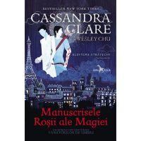 Carte Editura Corint, Blesteme stravechi vol. 1 Manuscrisele rosii ale magiei, Cassandra Clare, Wesley Chu